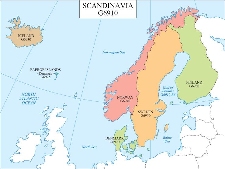 G schedule 24 Scandinavia