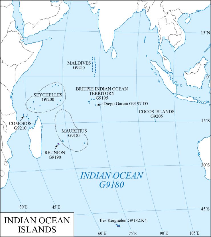G schedule 41 Indian Ocean