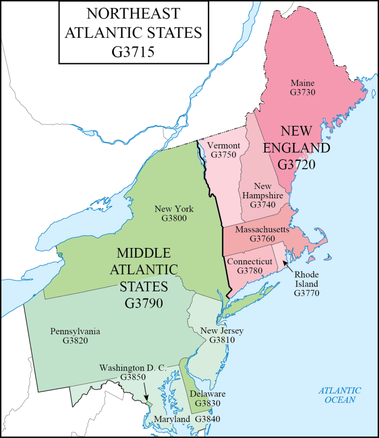 G schedule 7 northeast atlantic states2