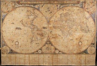 An image of Blaeu's world map