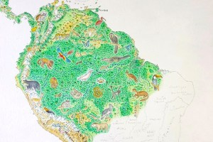 Kottke.org's hand-drawn map of the Wild World.