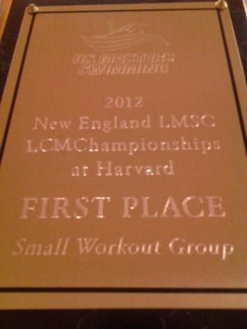 2012 LCM Championships - First place, Small workout group!