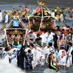 湘南に本格的な夏を告げる暁の祭典「浜降祭」に行ってきました♡