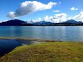 Fresh snow, first swim of the season,