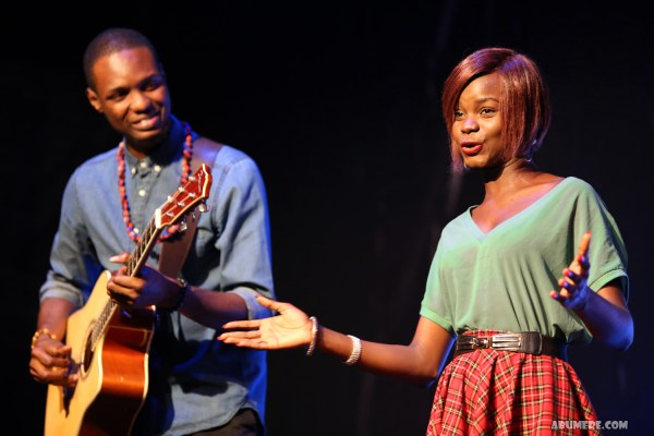 Jazz guitarist, composer and band leader Femi Leye and Singer Naomi Mac