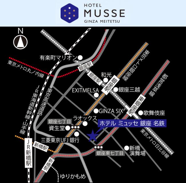 m-inn-ginza-map