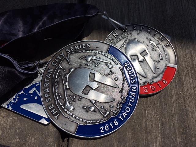 2018台灣斯巴達獎牌2018spartan race taiwan