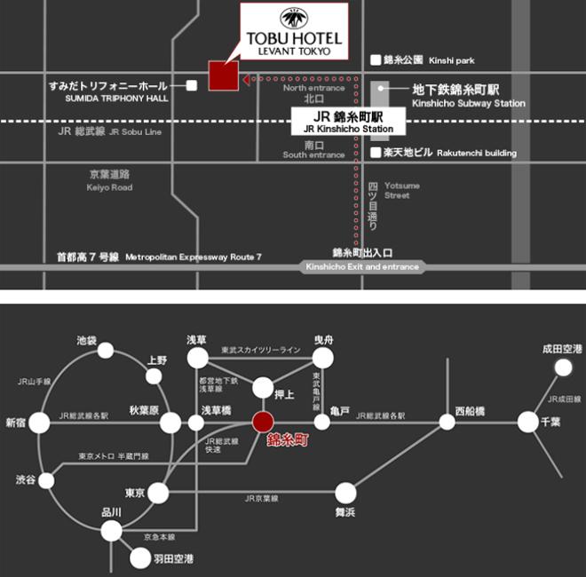 tobu-hotel-levant-tokyo-map