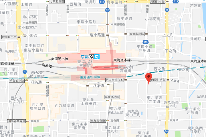 01-daiwa-royal-hotel-grande-kyoto-map