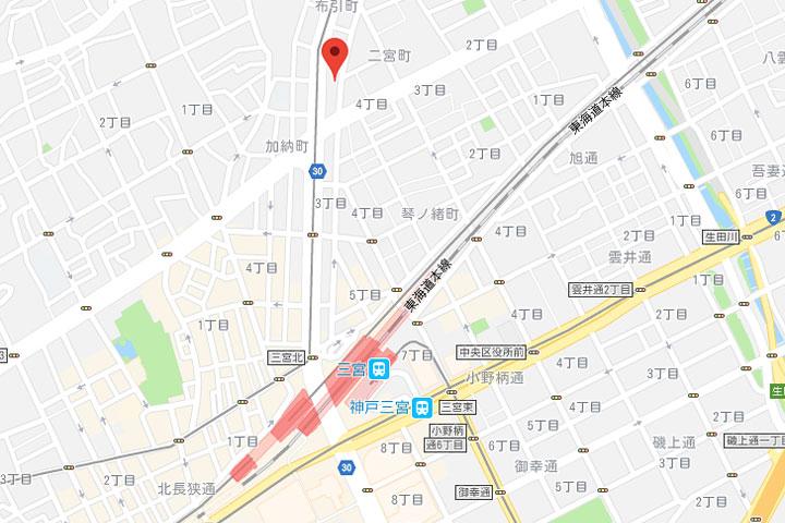03-hotel-livemax-kobe-sannomiya-map