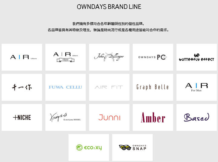 owndays-brand-line