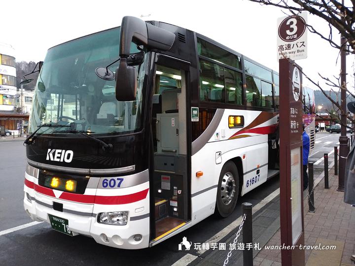 新宿往返河口湖 高速巴士 搭乘心得 大型行李、地點、車票價格