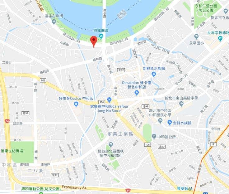 bay-shore-villa-map