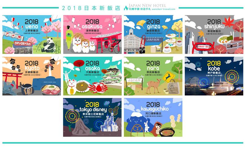2018日本新飯店 懶人包