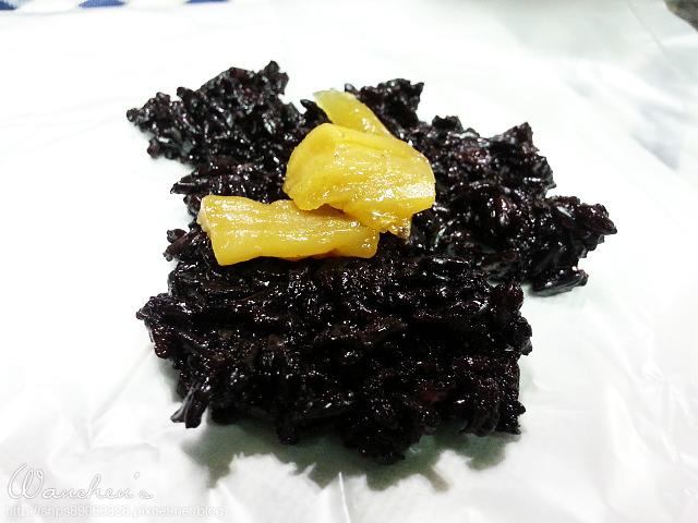 20140619黑米 雙色飯糰_204501