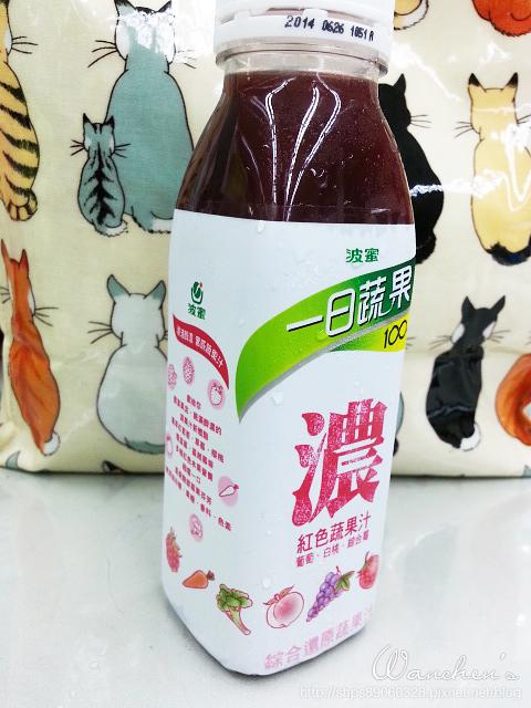 20140616波蜜一日蔬果 100%紅色濃蔬果汁_131155
