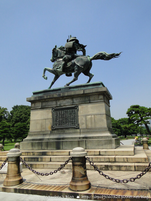 日本東京景點 皇居二重橋