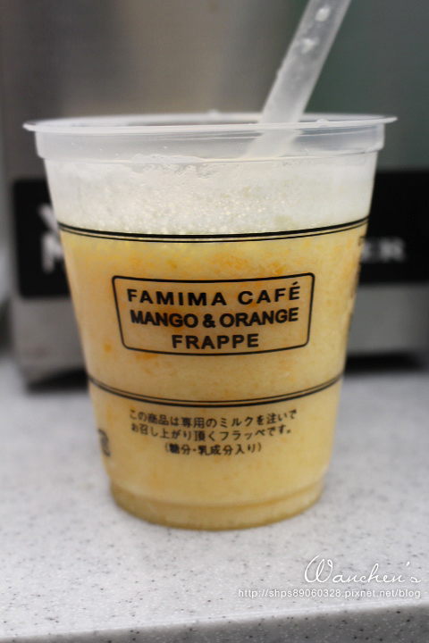 日本全家抹茶冰沙 Famima café Frappe