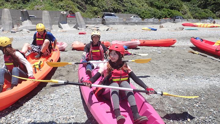 宜蘭獨木舟
