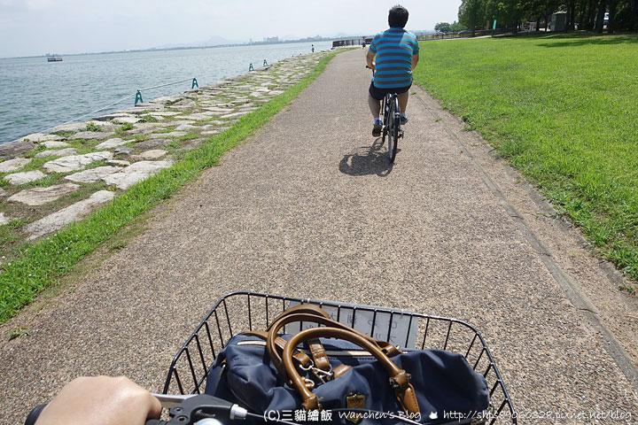 腳踏車環湖