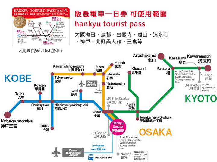 阪急電車一日券路線