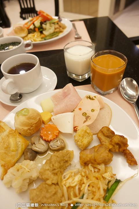中心文華酒店早餐