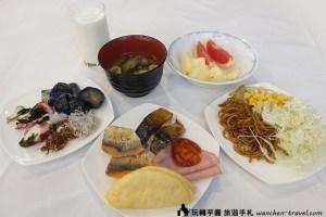 大阪廣場飯店早餐