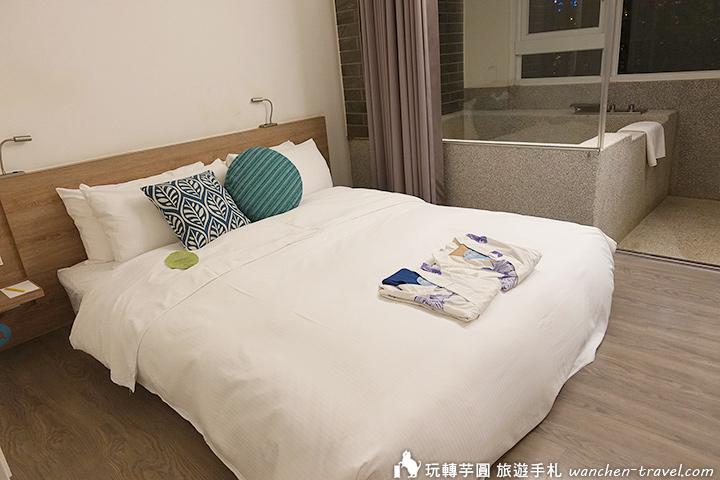 宜蘭礁溪捷絲旅 Just Sleep Jiaoxi 房型一覽 房間有超大泡湯池