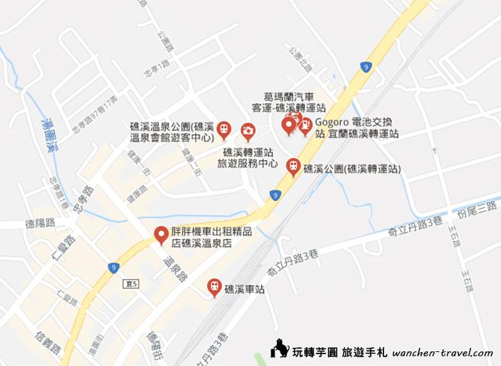jiaoxi-station-map
