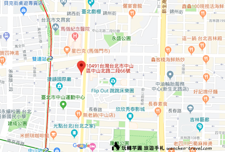 sufood-zhongshann-map