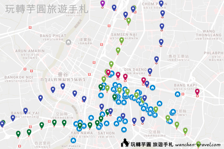 bangkok-five-star-hotel-map