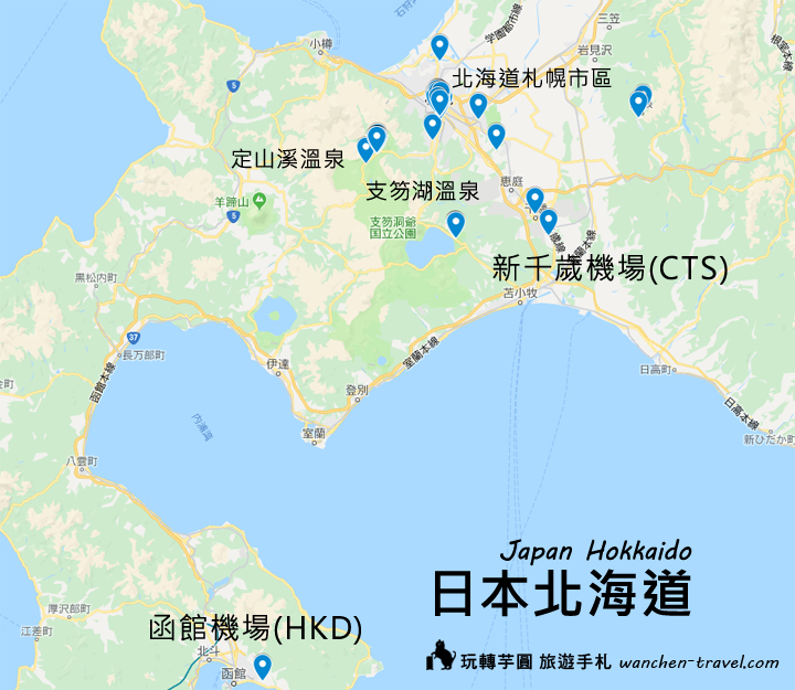 hokkaido-five-star-hotel-map