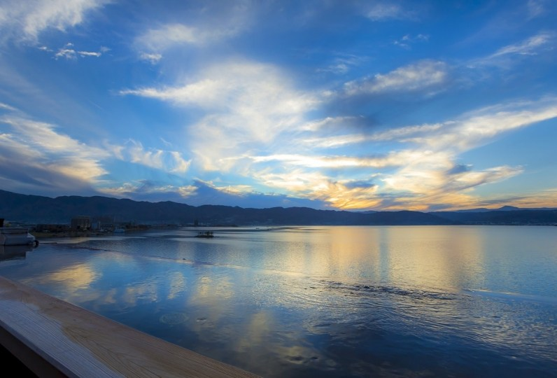 諏訪湯宿 萃sui- 諏訪湖