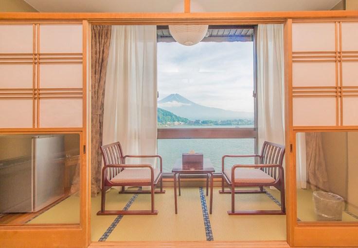 河口湖新世紀 富士山窗景