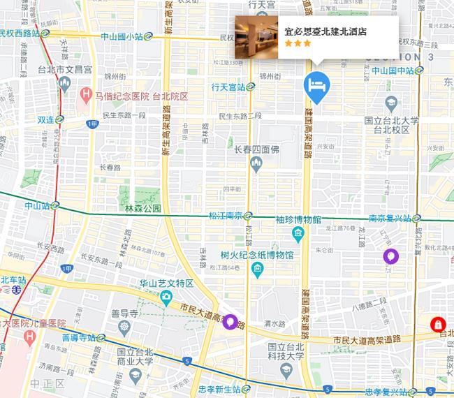 ibis-taipei-map