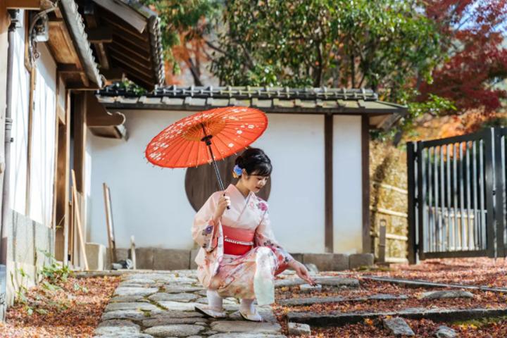 日本東京櫻京和服
