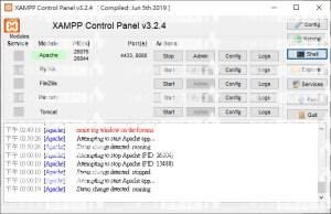XAMPP 非port佔用,無法啟動Apache的解決方法。