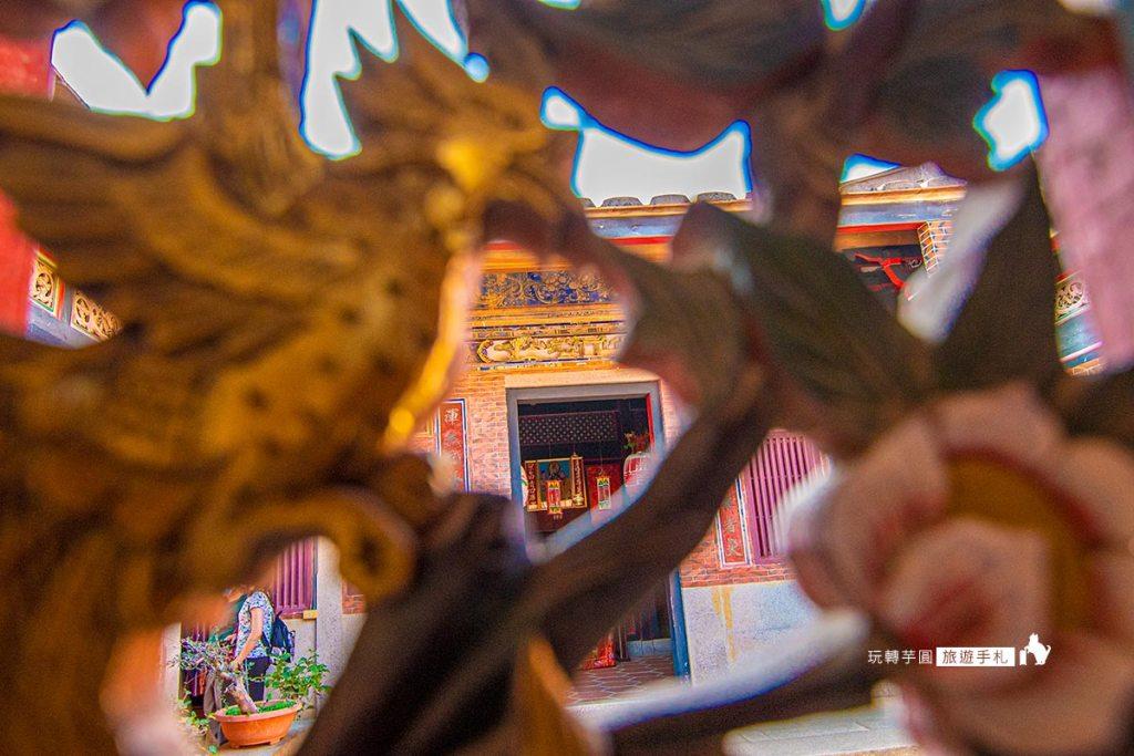 圖:山后民俗文化村歷史窗花 /攝影:玩轉芋圓旅遊手札