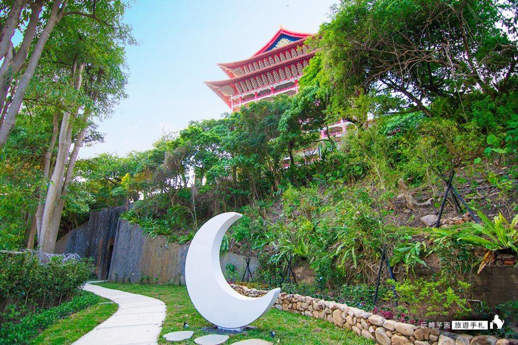 圓山大飯店 東密道鏡頭的秘境花園 (圖/玩轉芋圓旅遊手札拍攝