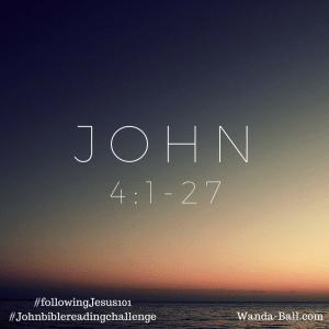 John 4-1-27