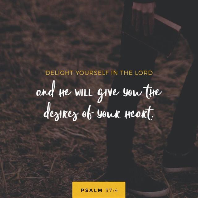 unspeakable joy psalm 37:4
