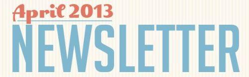April Newsletter Header