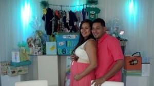 The happy parents!