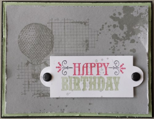This card was created by my friend Iina Lee and I thought it was a fun card to make.