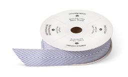 "Wisteria Wonder 3/4"" Chevron Ribbon  Item # 130017 Regular Price: $8.95 Discounted Price: $6.71"