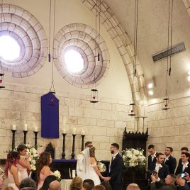 Ceremony in Ancient Chapel
