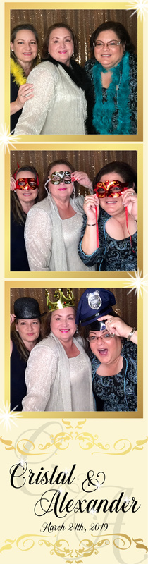 Photo Booth fun with my sisters
