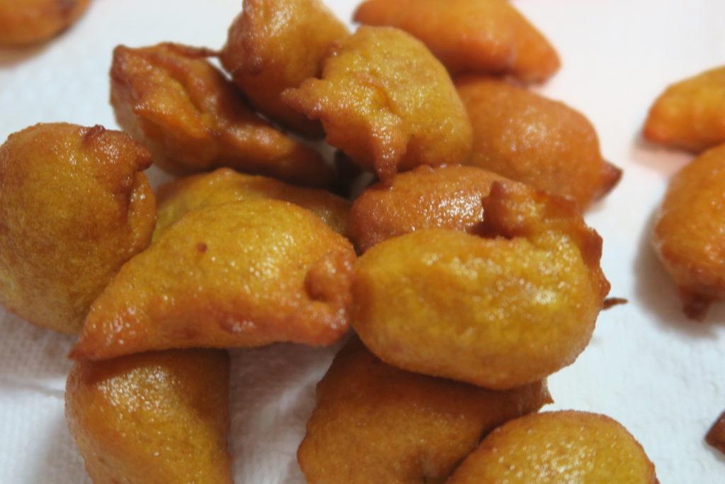 Frituras de Calabaza