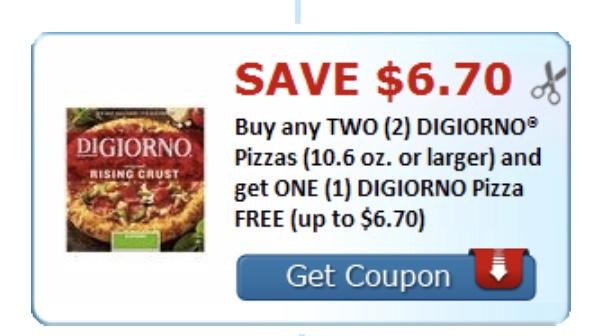 PIZZA DIGIORNO 2BOGO1 GRATIS