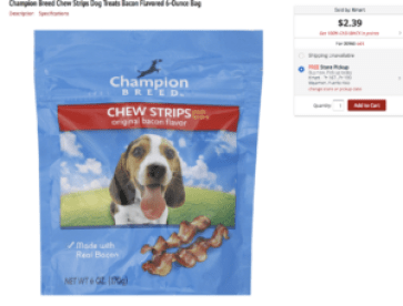 Snack perritos